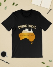 DRINK LOCAL AUSTRALIA CRAFT BEER Classic T-Shirt lifestyle-mens-crewneck-front-19