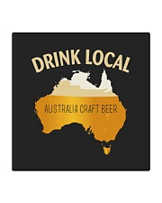 DRINK LOCAL AUSTRALIA CRAFT BEER Square Coaster thumbnail