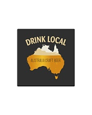 DRINK LOCAL AUSTRALIA CRAFT BEER Square Magnet thumbnail