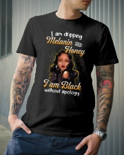Im dripping melanin and honey Classic T-Shirt lifestyle-mens-crewneck-front-6
