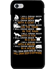 I WILL DRINK BEER EVERYWHERE Phone Case thumbnail