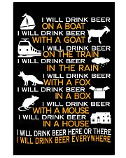 I WILL DRINK BEER EVERYWHERE 11x17 Poster thumbnail