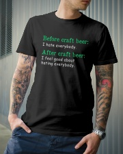 CRAFT BEER Classic T-Shirt lifestyle-mens-crewneck-front-6