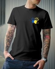 DOWN SYNDROME Classic T-Shirt lifestyle-mens-crewneck-front-6