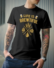 LIFE IS BREWTIFUL Classic T-Shirt lifestyle-mens-crewneck-front-6