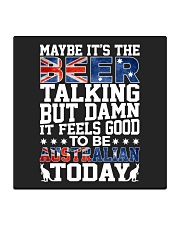 GOOD TO BE AUSTRALIAN TODAY Square Coaster thumbnail
