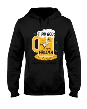 THANK GOD IT'S FRIDAY Hooded Sweatshirt thumbnail