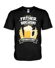 Brewski V-Neck T-Shirt thumbnail