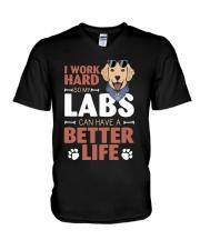Better Life V-Neck T-Shirt thumbnail