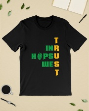 IN HOPS WE TRUST Classic T-Shirt lifestyle-mens-crewneck-front-19
