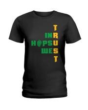 IN HOPS WE TRUST Ladies T-Shirt thumbnail