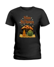 HOPPY HALLOWEEN Ladies T-Shirt thumbnail