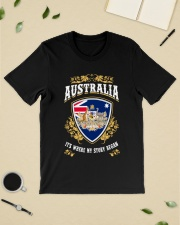 Australia it's where my story began Classic T-Shirt lifestyle-mens-crewneck-front-19