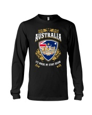 Australia it's where my story began Long Sleeve Tee thumbnail