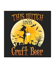 THIS WITCH LOVES CRAFT BEER Square Coaster thumbnail