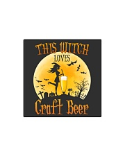 THIS WITCH LOVES CRAFT BEER Square Magnet thumbnail