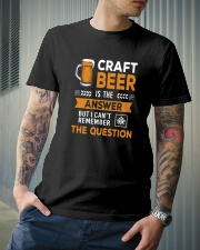 CRAFT BEER IS THE ANSWER Classic T-Shirt lifestyle-mens-crewneck-front-6