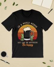 Be Hoppy Classic T-Shirt lifestyle-mens-crewneck-front-19