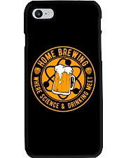 HOME BREWING WHERE SCIENCE AND DRINKING MEET Phone Case thumbnail
