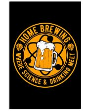 HOME BREWING WHERE SCIENCE AND DRINKING MEET 11x17 Poster thumbnail