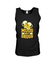 Mugs not drugs Unisex Tank thumbnail
