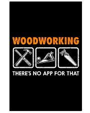 WOODWORKING THERE'S NO APP FOR THAT 11x17 Poster thumbnail