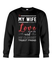 In-My-Wife Crewneck Sweatshirt thumbnail