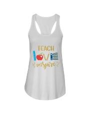 TEACH LOVE INSPIRE - Teach love inspire Ladies Flowy Tank thumbnail