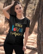 TEACH LOVE INSPIRE - Teach love inspire Ladies T-Shirt apparel-ladies-t-shirt-lifestyle-06
