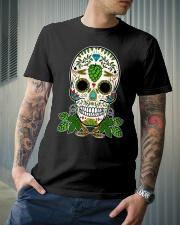 HOP SKULL Classic T-Shirt lifestyle-mens-crewneck-front-6