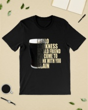 HELLO DARKNESS MY OLD FRIEND Classic T-Shirt lifestyle-mens-crewneck-front-19