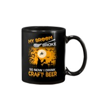 MY BROOM BROKE SO NOW I DRINK CRAFT BEER Mug thumbnail