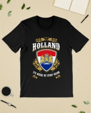 Holland it's where my story began Classic T-Shirt lifestyle-mens-crewneck-front-19