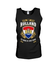 Holland it's where my story began Unisex Tank thumbnail