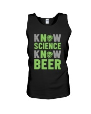 NO SCIENCE NO BEER Unisex Tank thumbnail