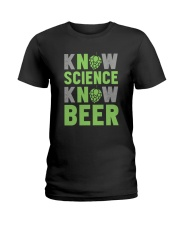 NO SCIENCE NO BEER Ladies T-Shirt thumbnail