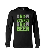 NO SCIENCE NO BEER Long Sleeve Tee thumbnail