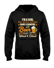 Bonfire and Beer Hooded Sweatshirt thumbnail
