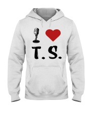 I LOVE MUSIC Hooded Sweatshirt thumbnail