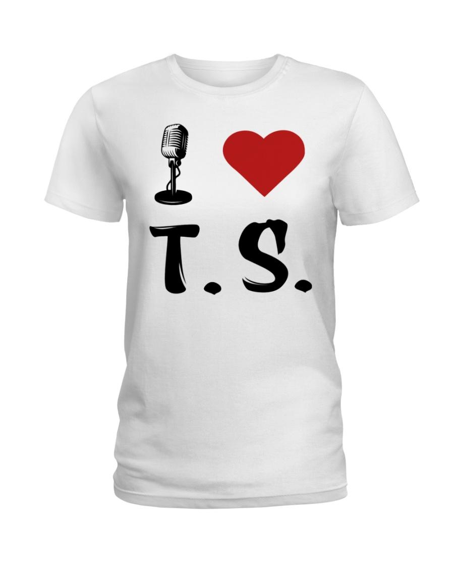 I LOVE MUSIC Ladies T-Shirt