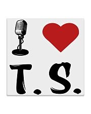 I LOVE MUSIC Square Coaster thumbnail