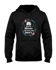 JUST A WOMAN WHO LOVES CRAFT BEER Hooded Sweatshirt thumbnail