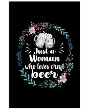 JUST A WOMAN WHO LOVES CRAFT BEER 11x17 Poster thumbnail