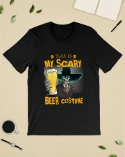 THIS IS MY SCARY BEER COSTUME Classic T-Shirt lifestyle-mens-crewneck-front-19