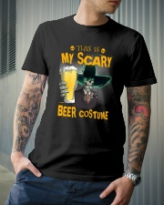 THIS IS MY SCARY BEER COSTUME Classic T-Shirt lifestyle-mens-crewneck-front-6