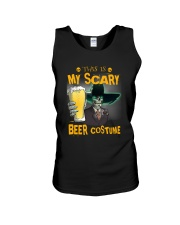 THIS IS MY SCARY BEER COSTUME Unisex Tank thumbnail