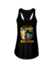 THIS IS MY SCARY BEER COSTUME Ladies Flowy Tank thumbnail