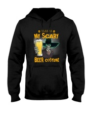 THIS IS MY SCARY BEER COSTUME Hooded Sweatshirt thumbnail