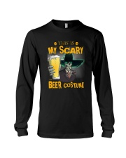 THIS IS MY SCARY BEER COSTUME Long Sleeve Tee thumbnail