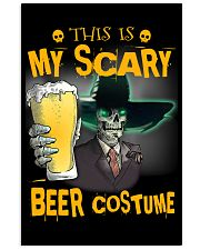 THIS IS MY SCARY BEER COSTUME 11x17 Poster thumbnail